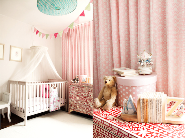 kids bedroom singapore pink