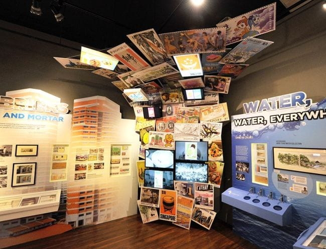 The Singapore Journey: 50 Years through Stamps exhibition is now on