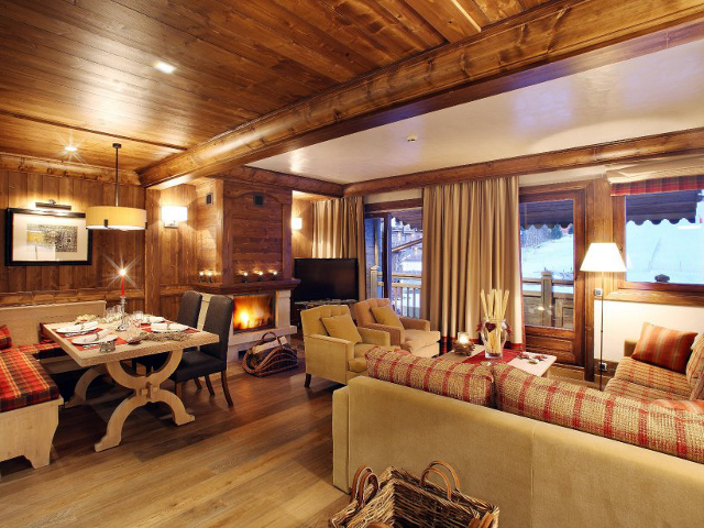 ski family chalet holiday