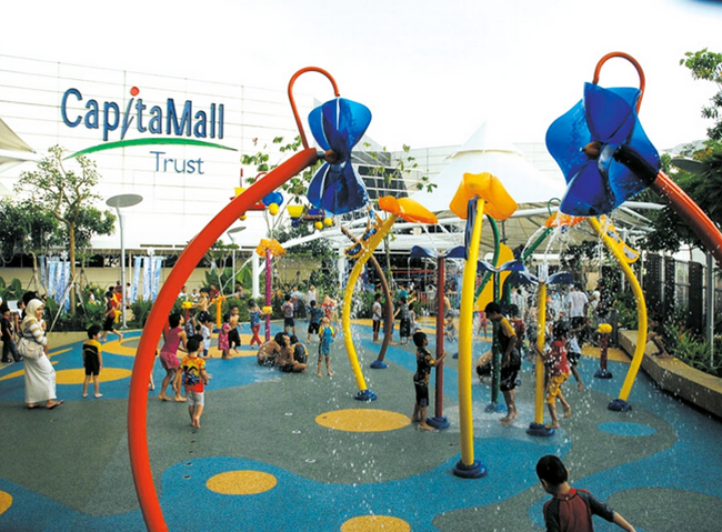 IMM's wicked wet play area