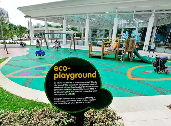 City Square Mall's kids' playground