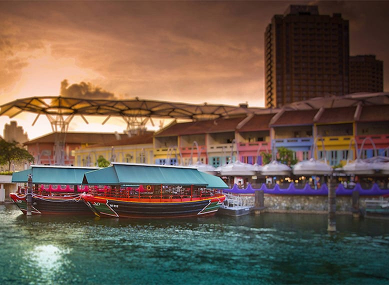 river restaurants to eat at with kids in Singapore