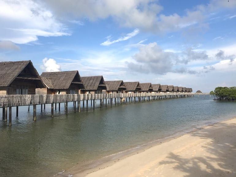 Telunas Private Island best babymoons from Singapore HoneyKids Asia