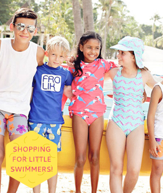 Cool and cute swimwear for kids!