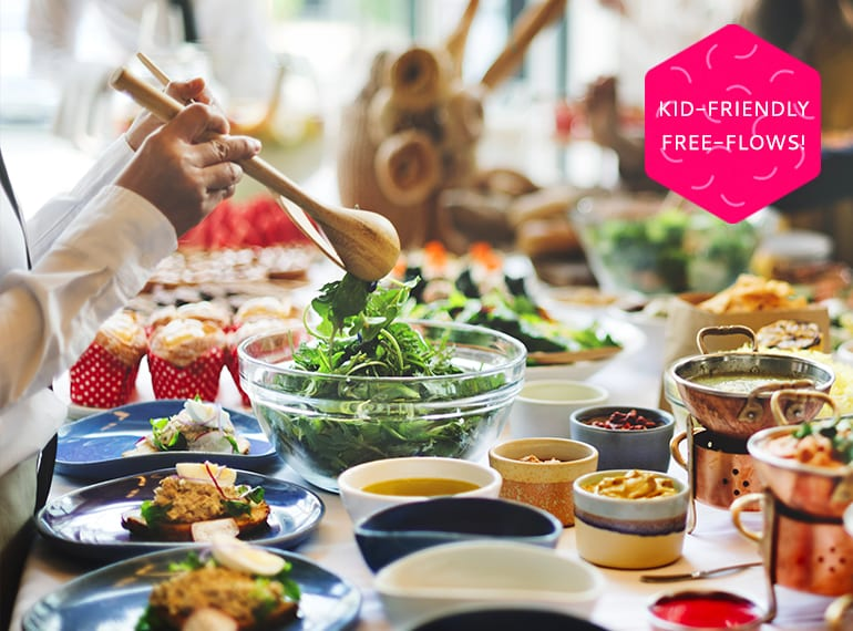 Did somebody say free-flow brunch? Check out our guide to awesome Sunday brunches in Singapore that welcome kids - and offer free flow buffets and all-you-can eat menus!