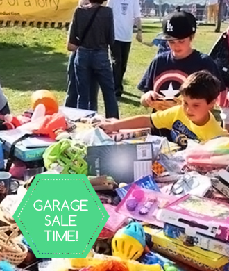 Celebrate second-hand: it's garage sale time!