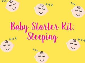 Baby shopping guide: essentials for sleep HoneyKids Asia