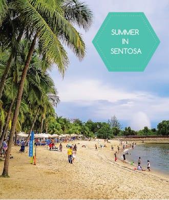 Summer at Sentosa