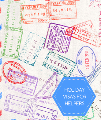 Holiday visa guide for helpers