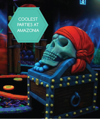 Ultimate themed parties and play sessions at Amazonia