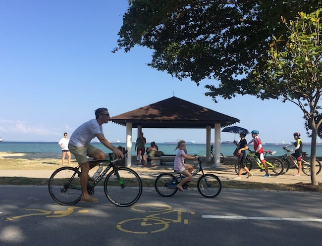 East coast park biking by the beach 650 x 497