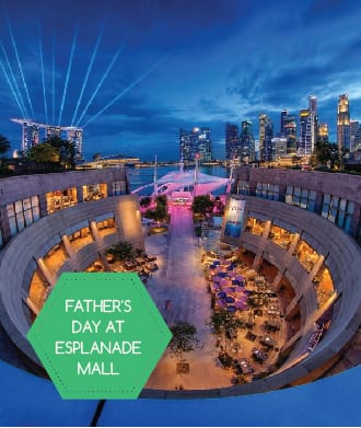 Fathers' Day out at Esplanade Mall