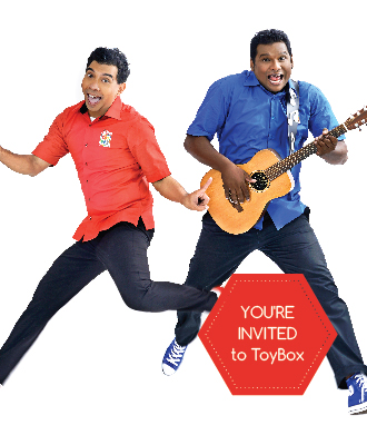 The Amazing ToyBox children's show – FREE concert just for us!