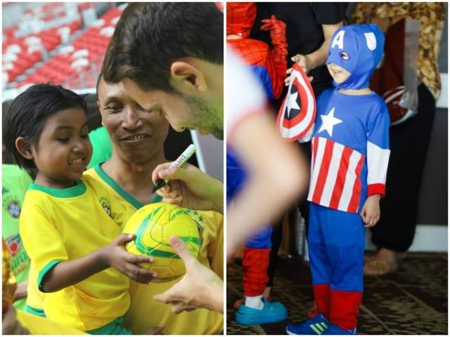 Volunteering for kids in singapore