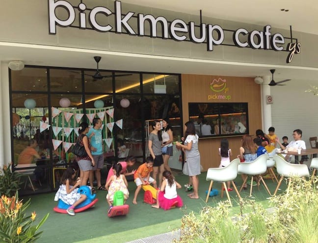 Pick-Me-Up Cafe is the ultimate family friendly hangout.