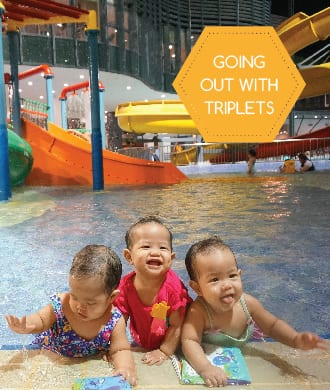 Surviving Singapore with twins and triplets