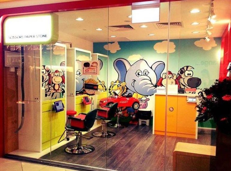 kids hairdressers in Singapore