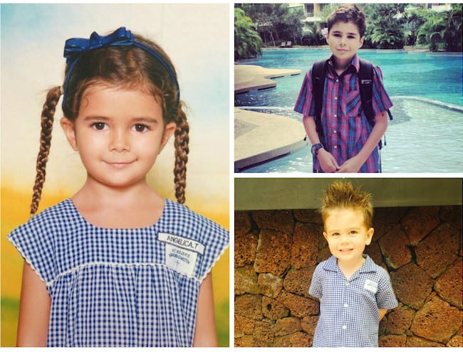 internatTracy's kids Angelica, Jack and Rafferty are enrolled in both international and local schools.