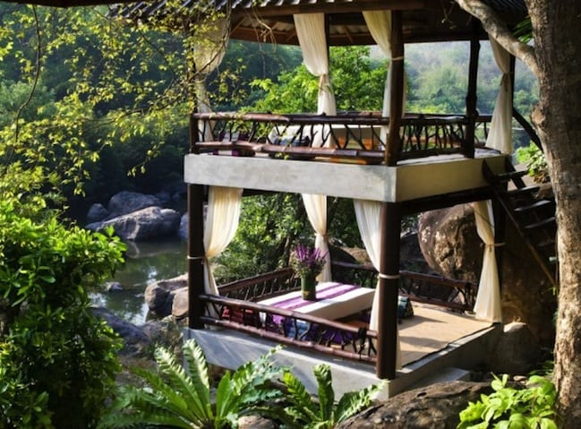 Forest resorts and nature retreats in south east asia 8 jungle and rainforest holidays for the - Wooden vacation houses nature style ...