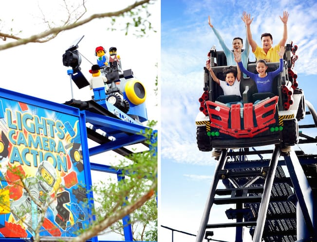 Legoland's 4D Studios and Project X Rollercoaster