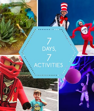 7 days of school holidays: 7 activities to occupy those little (and big!) people