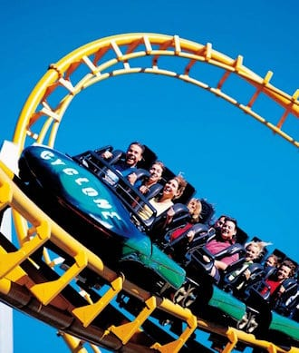 Go to the Gold Coast theme parks!