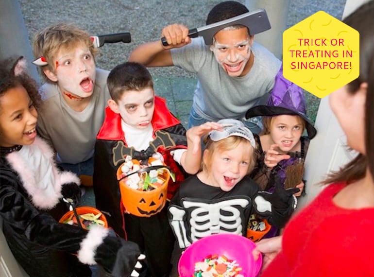 Halloween for kids in Singapore