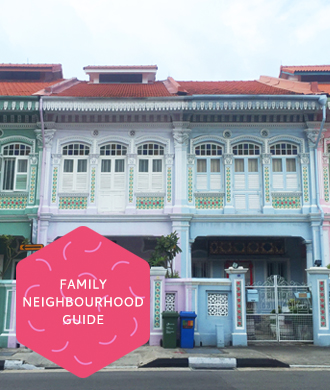 The best family neighbourhoods in Singapore!