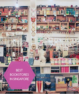 Our favourite book stores in Singapore