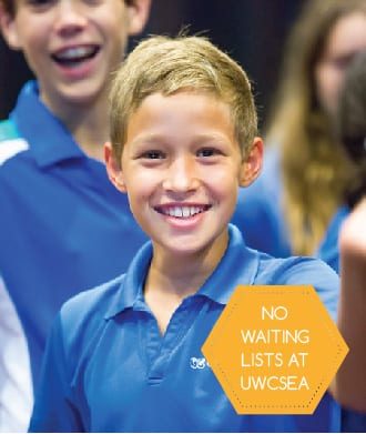 Admissions to UWCSEA to open in September 2015 – with no wait list!