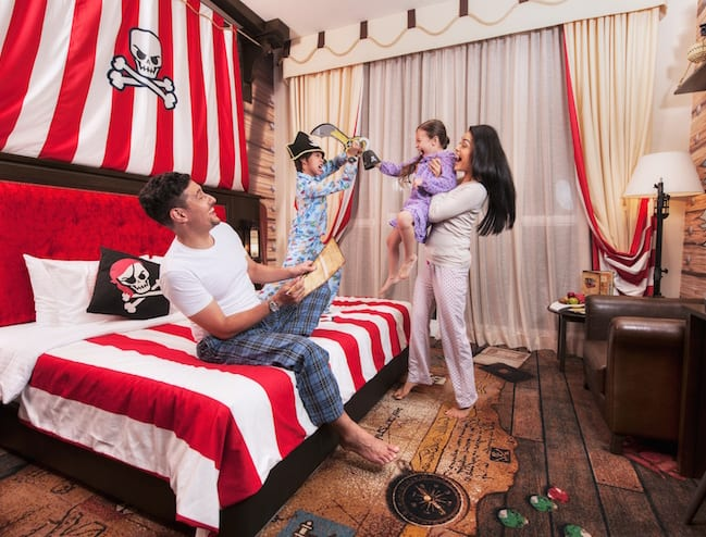 Legoland Hotel's Pirate-themed room.