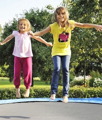 Get bouncing in your backyard!