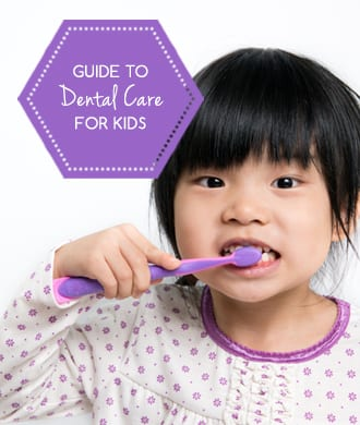 Introducing kids to dental care