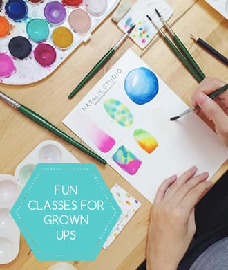 Fun classes for grown-ups