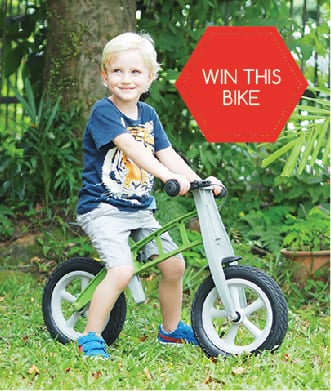 We review the FirstBIKE; plus, your chance to WIN!