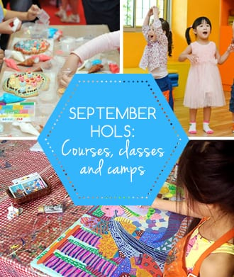 Courses, classes and camps for the September school holidays