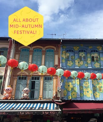 Bring out the lanterns: it's mid-autumn festival in Singapore!