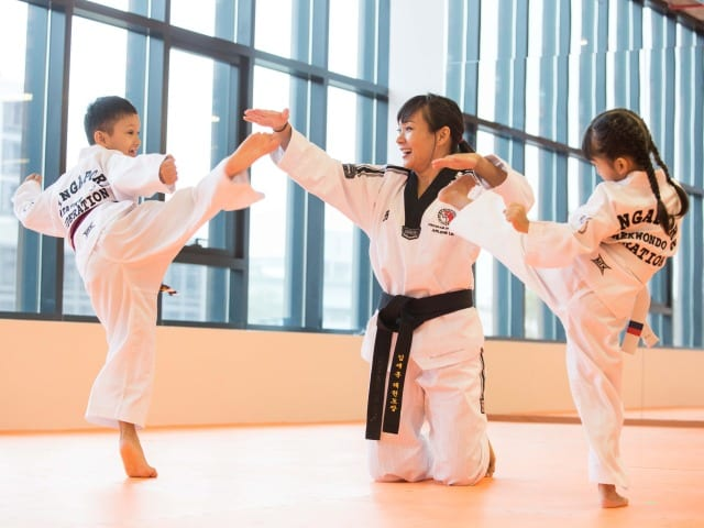 Boost your child's confidence, strength and coordination at a martial arts class. Photography: Trifecta Martial Arts.