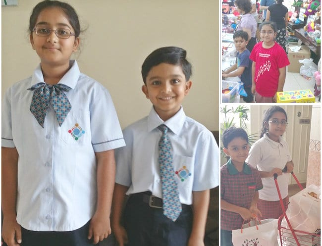 Mini humanitarians Zahara & A have been busy raising funds for a number of deserving causes for some time now...