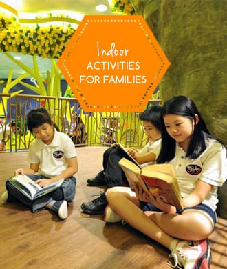 Escape the rain or haze with these funtastic indoor activities