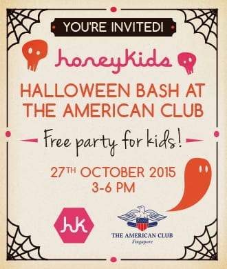 You're invited to our Halloween party!