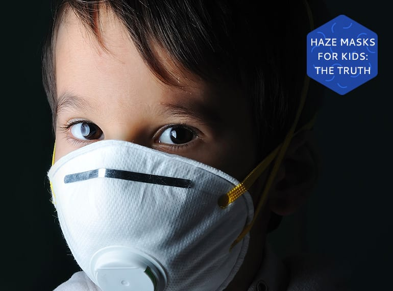 Before you put an N95 mask on your child, read what the medical experts have to say about protecting children and infants during the haze.