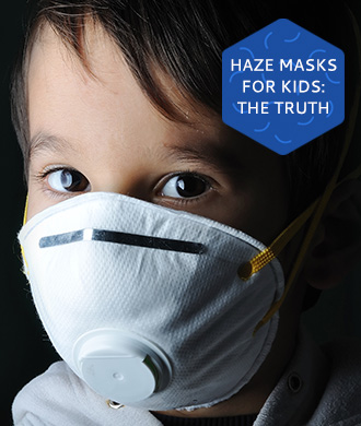 What you need to know before you make your child wear a haze mask