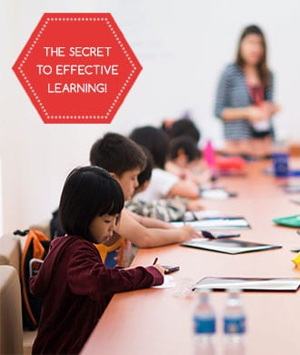 What's the secret to effective learning in Singapore?
