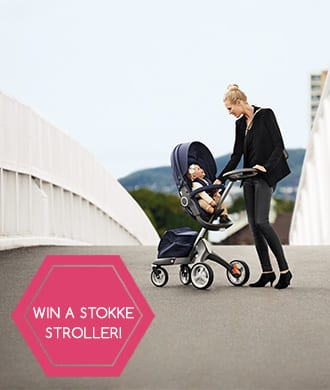 Subscribe to WIN a Stokke Xplory stroller valued at $1,999!