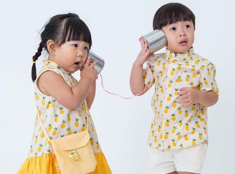 We love local label Chubby Chubby's fun prints!