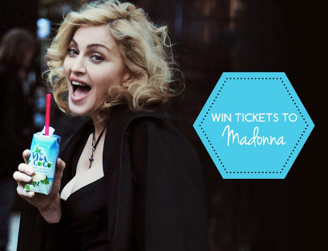Strike a pose, Madonna fans: this is your chance to win tickets to her only Singapore show!