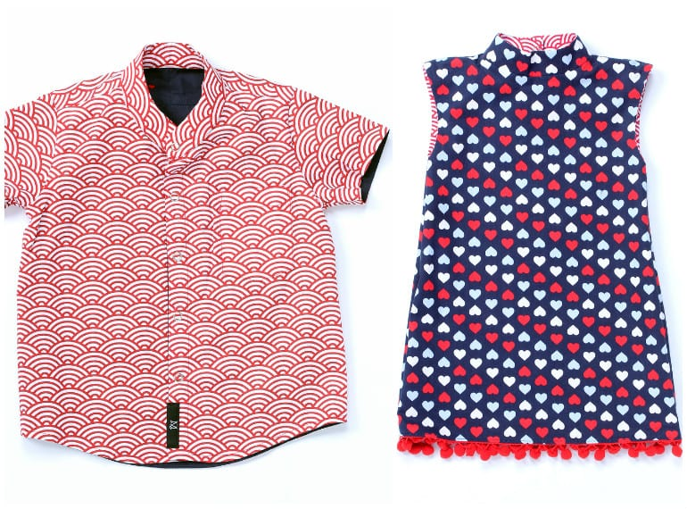 Clever reversible clothes for kids by Maissone Q
