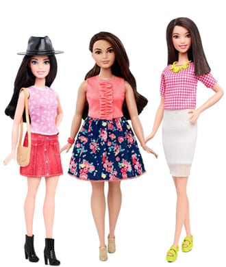 Tall, curvy and petite: Barbie gets a meaningful makeover