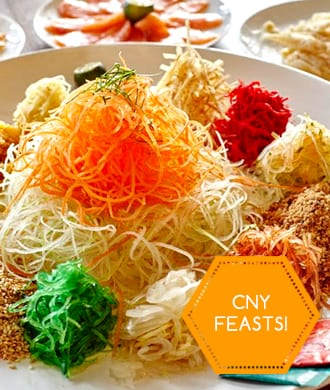 Singapore's best CNY Feasts!
